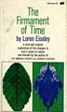 Firmament of Time by Loren Eiseley