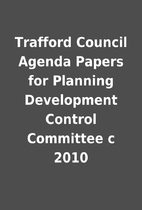 Trafford Council Agenda Papers for Planning…
