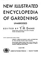 New Illustrated Encyclopedia of Gardening…