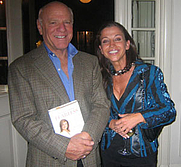 Author photo. Wendy Diamond depicted with Barry Diller <br>at a 2006 Arianna Huffington book party <br>Copyright © 2006 <a href=&quot;http://ronhogan.tumblr.com&quot;>Ron Hogan</a>