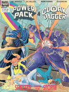 Power Pack & Cloak and Dagger: Shelter from…