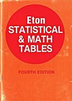 Eton statistical & math tables