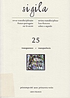 Sigila - Revue transdisciplinaire…