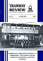Tramway Review, vol. 22, n°175 by Richard…