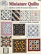 Miniature quilts from the Quilters Guild of…