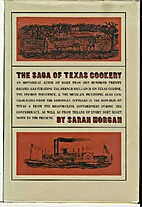 The Saga of Texas Cookery by Sarah Morgan