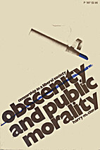 Obscenity and Public Morality by Harry M.…