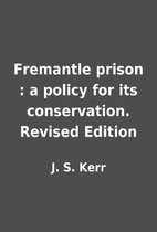 Fremantle prison : a policy for its…
