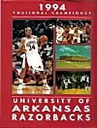 University of Arkansas Razorbacks by Dudley…