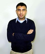 Author photo. Mobashar Qureshi, Canadian novelists, Author (by Wajeeha Qureshi)