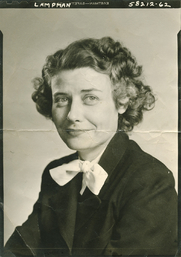 Author photo. Evelyn Sibley Lampman