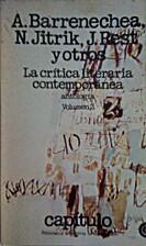 La Crítica Literarea Contemporánea - TOMO…