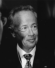 Author photo. Andy Grove, 1997, World Economic Forum Annual Meeting