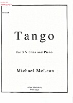 Tango for 3 Violins and Piano by Michael…