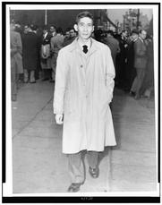 Author photo. New York World-Telegram and the Sun staff photographer: Albertin, Walter, photographer.