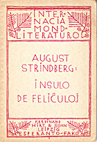 De lycksaliges ö by August Strindberg