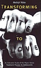 transforming hate to love: outcome study of…