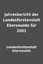 Jahresbericht der Landesforstanstalt…