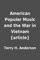 American Popular Music and the War in…