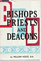 Bishops, Priests and Deacons by William…