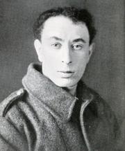 Author photo. Image from <b><i>Poems by Isaac Rosenberg</i></b> (1922)