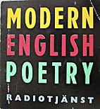 Modern English Poetry, Engelsk radiokurs…