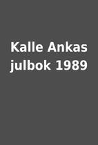 Kalle Ankas julbok 1989