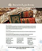 Bauman Rare Books: November Holiday 2011…