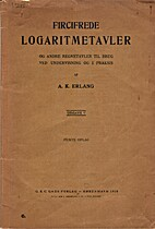 Fircifrede Logaritmetavler og andre…