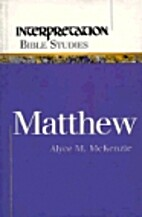 Matthew (Interpretation Bible Studies) by…
