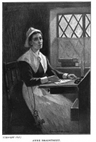 Author photo. Illustration from <i>An Account of Anne Bradstreet The Puritan Poetess and Kindred Topics<i> by Col. Luther Caldwell, 1898