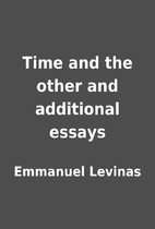 Time and the other and additional essays by…