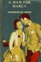 A Man for Marcy by Rosamond du Jardin