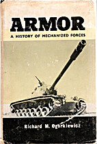 Armour - the Development of Mechanised…