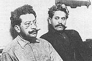 Author photo. Ricardo (left) and Enrique Flores Magon. L.A. County Jail (1917)