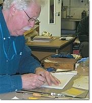Author photo. Mercian Scribes