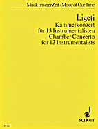 Chamber Concerto for 13 Players Study Score…