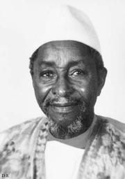 Author photo. Ecrivain et ethnologue malien (1900-1991)