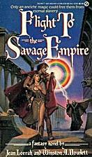 Flight to Savage Empire by Jean Lorrah