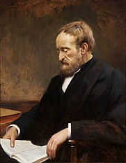 Author photo. Painted by Alexander MacDonald, 1900
