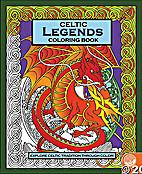 Celtic Legends Coloring Book by Rachel…