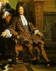 Author photo. Detail from the Family of Louis XIV, c. 1710-15.