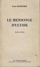 Le Mensonge d'Ulysse by Paul Rassinier
