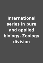International series in pure and applied…
