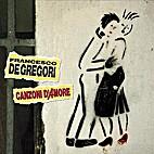 Canzoni d'Amore by Francesco De Gregori