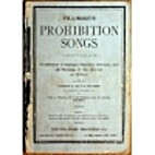 Fillmore's Prohibition Songs: A collection…