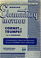 Rubank elementary method cornet or trumpet…