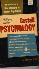 Gestalt Psychology: An Introduction to New…