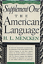 The American Language: An Inquiry Into the…