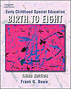 Early Childhood Special Education Birth to…